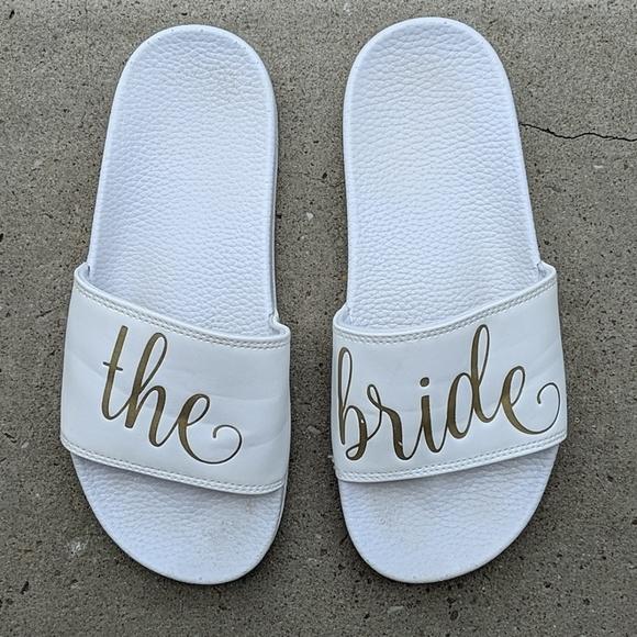 Bride slides